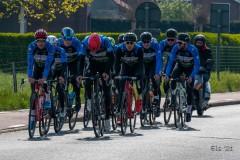 Tweede ploegtraining wielerteam Decock-Van Eyck- Devos Capoen