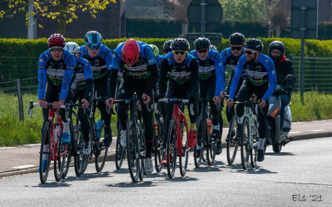 Ploegtraining wielerteam Decock- Van Eyck- Devos Capoen