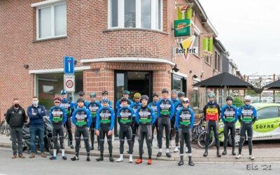 Ploegtraining Vlaamse Ardennen 13-05-21